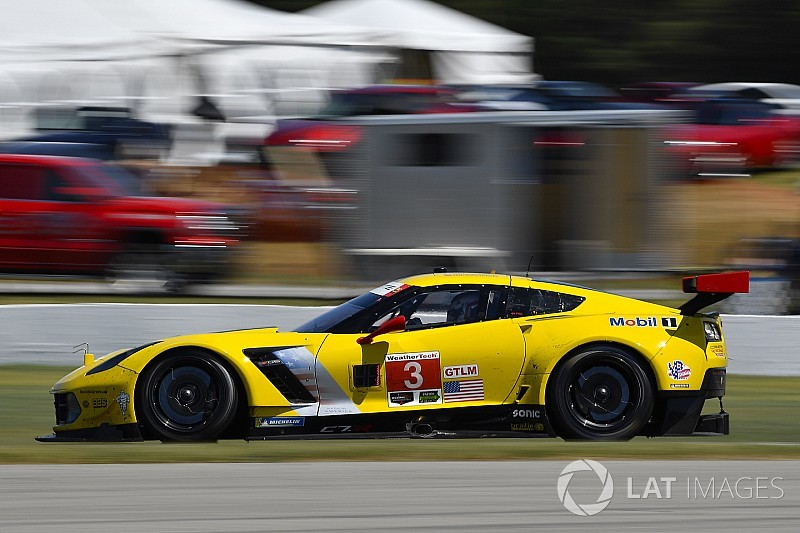 Lime Rock IMSA: Corvette and Audi lead second practice