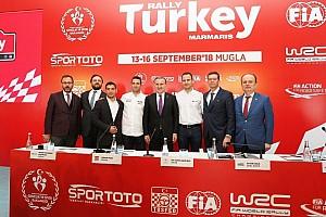 WRC Son dakika Türkiye, 2018 Dünya Ralli Şampiyonasına hazır