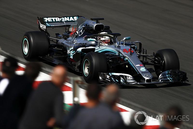 """Hamilton: """"A Mercedes beáldozta a tempót a megbízhatóságért"""""""