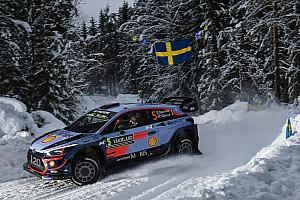 WRC Etappenbericht WRC Rallye Schweden: Thierry Neuville führt - Sebastien Ogier weit zurück
