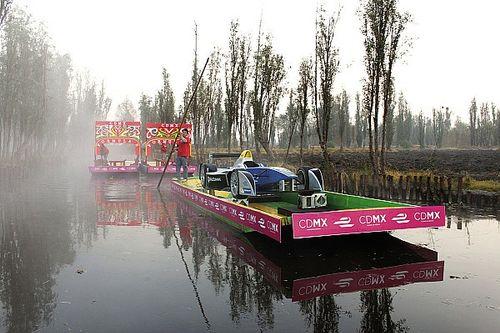 Galería: Show Car de Fórmula E en una trajinera