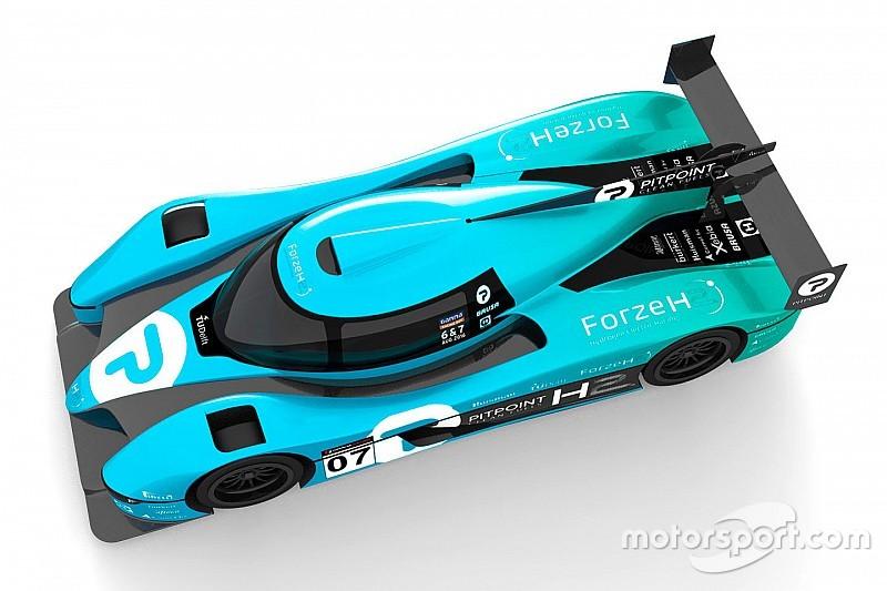 Dutch students present design for hydrogen-powered LMP3 racer