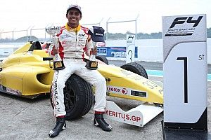 Clark F4: Gowda takes his first two wins