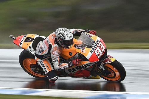 Australian MotoGP: Marquez fastest, big names dumped into Q1