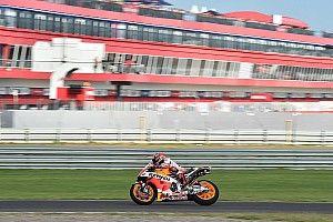 Pembalap MotoGP dipaksa pakai kompon ban hard saat latihan
