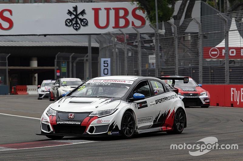 Singapore TCR: Grachev wins shortened Race 2, Nash reclaims points lead