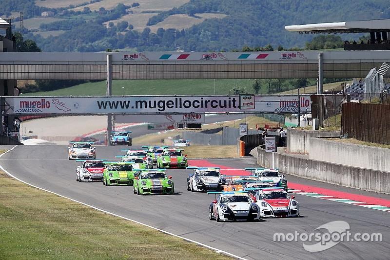 Arrivano in pista i piloti della Carrera Cup Italia per la terza gara del Mugello