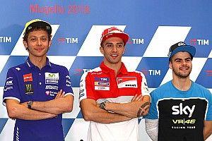 """Rossi: """"Solo espero que Fenati encuentre la fuerza para volver al Mundial"""""""