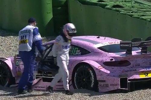 Video: Crash von Lucas Auer im DTM-Training