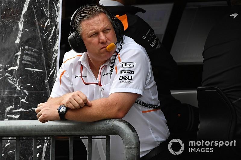 """McLaren-teambaas Brown: """"Verwacht geen wonderen meer"""""""