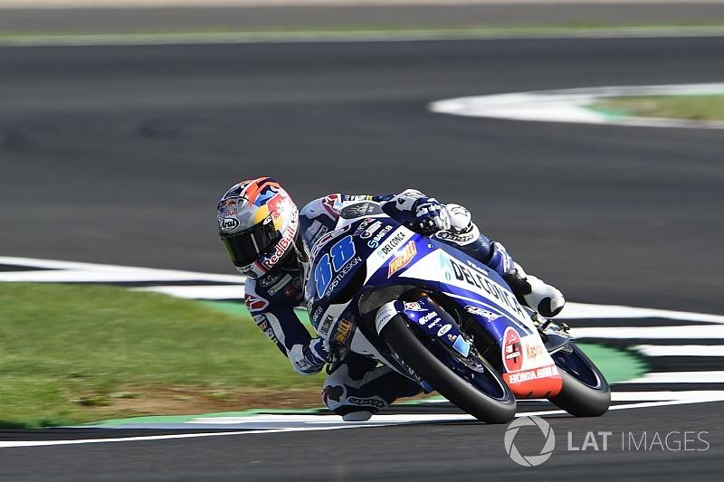 Moto3 Silverstone: Martin pakt zestiende pole, Bezzecchi crasht