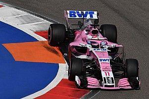 Pérez reconoce que erró en su vuelta rápida en la Q3 en Rusia