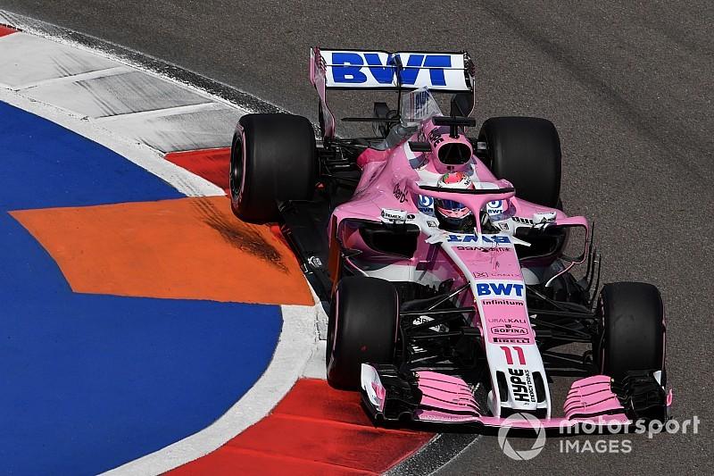 """Pérez: Estratégia da Force India não foi """"muito inteligente"""""""