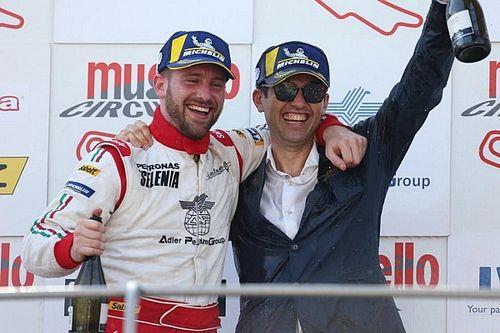 Cosimo Barberini a Monza nell'Europeo TCR con la Subaru
