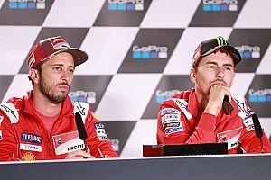 "Lorenzo attacks Dovizioso for ""strange"" absence comments"