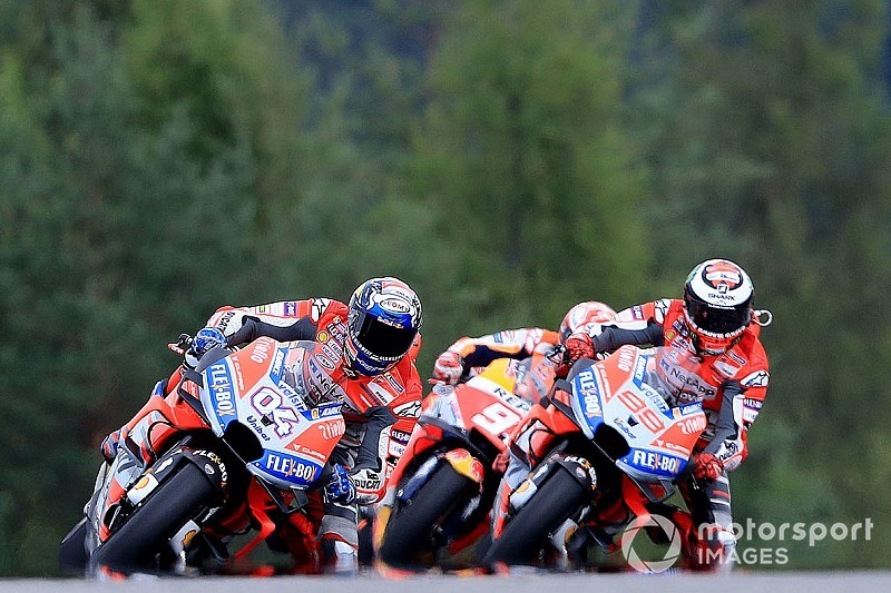 "Lorenzo profited from ""very new"" strategy in Brno race"