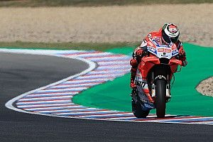 "Lorenzo to try ""radical"" set-up after ""difficult"" Friday"