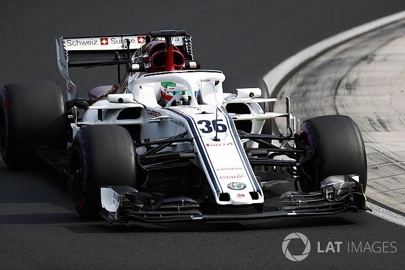 Giovinazzi, Sauber'le yaptığı testten memnun ayrılıyor