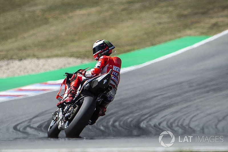 Lorenzo a besoin d'un changement radical sur sa moto