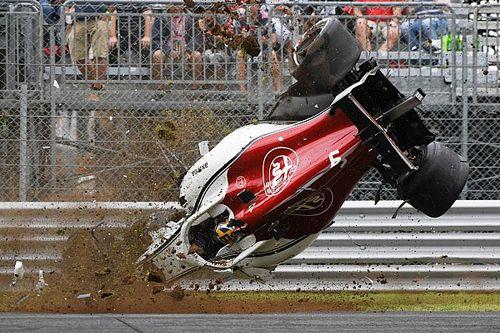 Большая авария Эрикссона в фотографиях