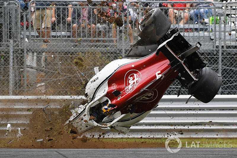 Photos - Les incidents et les crashs marquants de 2018 en F1