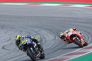 """Rossi zesde: """"Wel genoten vanwege de inhaalacties"""""""