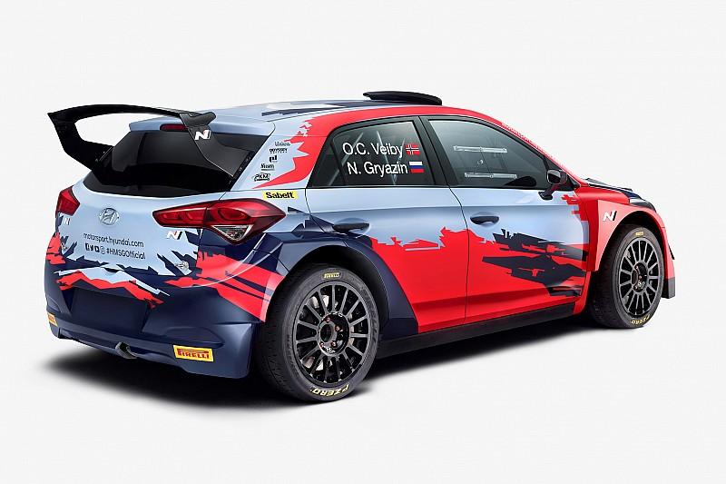 WRC2: Hyundai presenta il team 2020 con Gryazin e Veiby