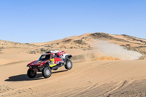 Sainz, precavido a dos jornadas del final del Dakar