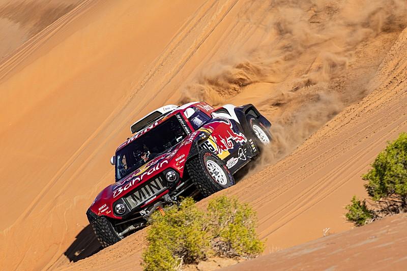 Sainz pakt derde eindoverwinning in Dakar Rally