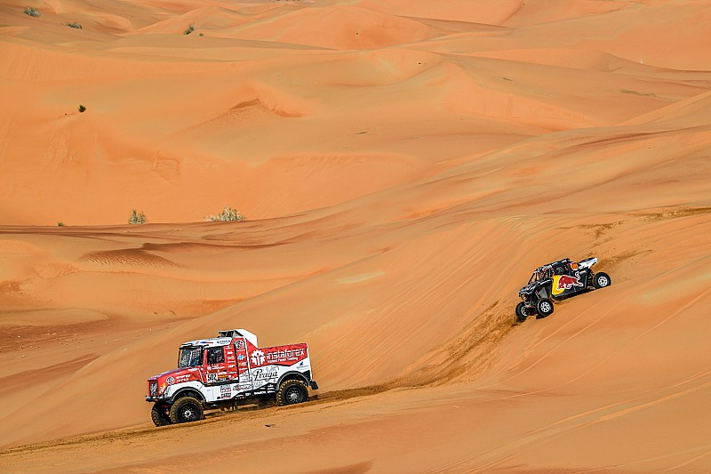 Skrócony finał Dakaru