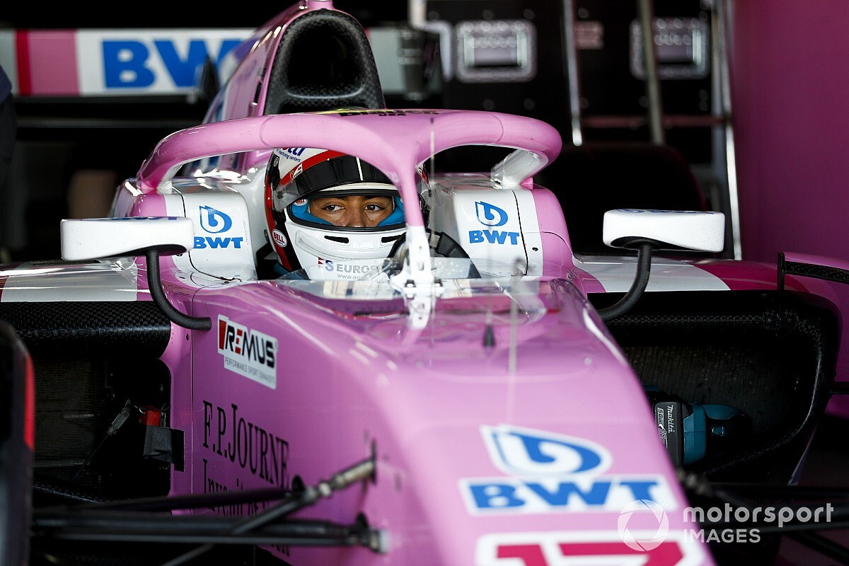Hungaroring F2: Alesi fastest in damp practice