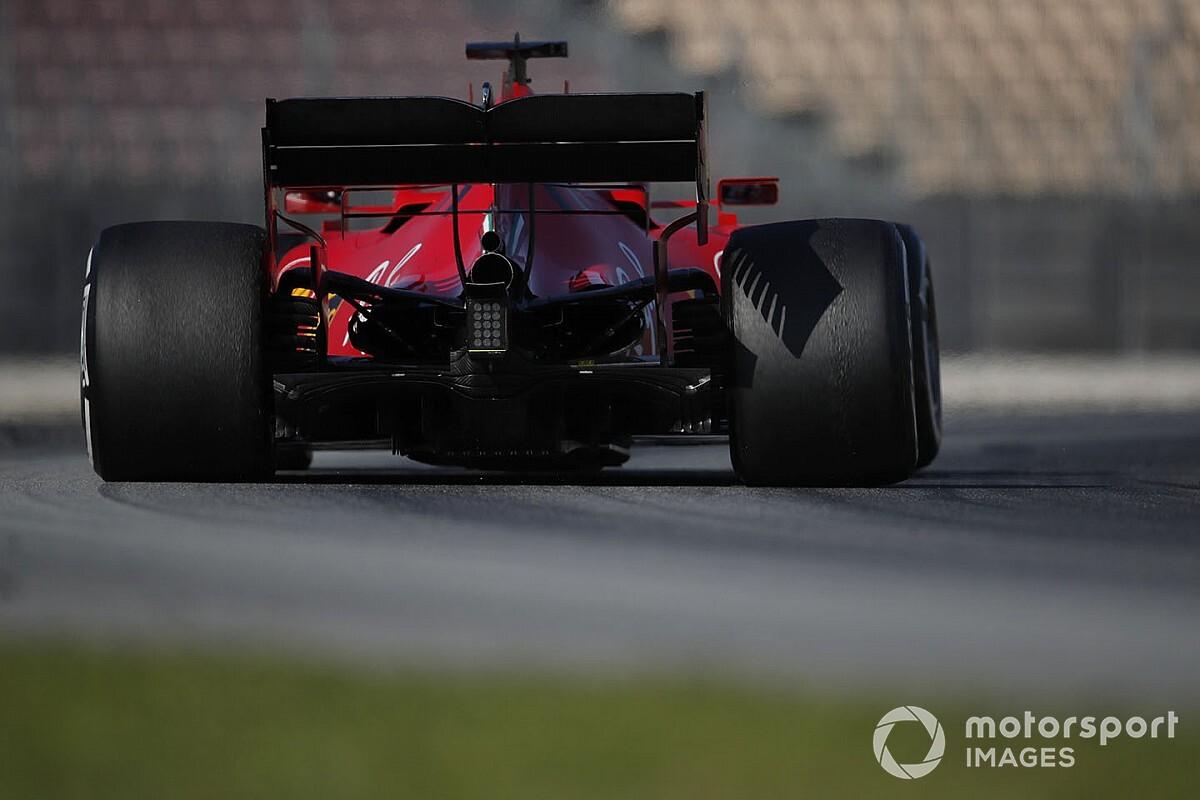 Ferrari, ilk testte sıralama veya yarış simülasyonuna odaklanmamış