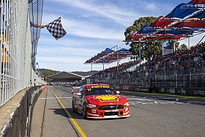 Adelaide 500: Van Gisbergen drama helps McLaughlin to victory