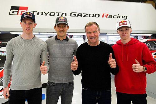 Resmi: Toyota, 2020'de WRC'de Ogier, Evans ve Rovanpera ile yarışacak!