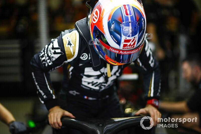 Grosjean, Amerika GP'de özel bir kask tasarımı kullanacak