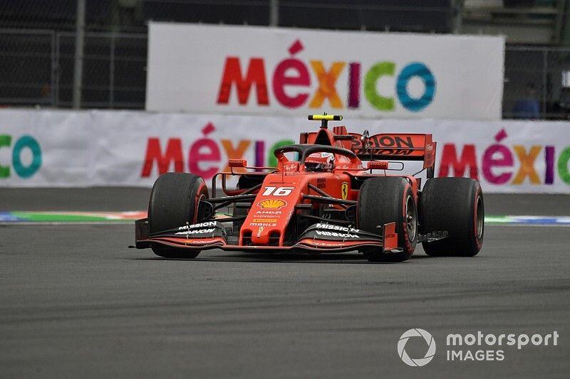Ferrari hace el 1-2 en México previo a la calificación