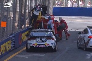 Van Gisbergen rushed to help McLaughlin after crash