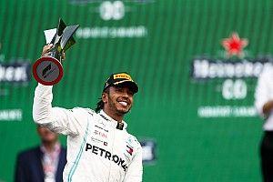 Estadísticas: Los 100 podios de Hamilton