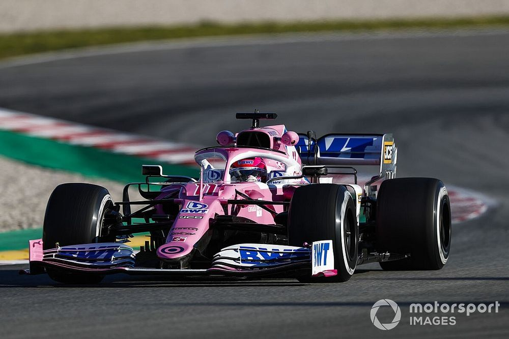 Racing Point: 'Pink Mercedes' route impossible until now