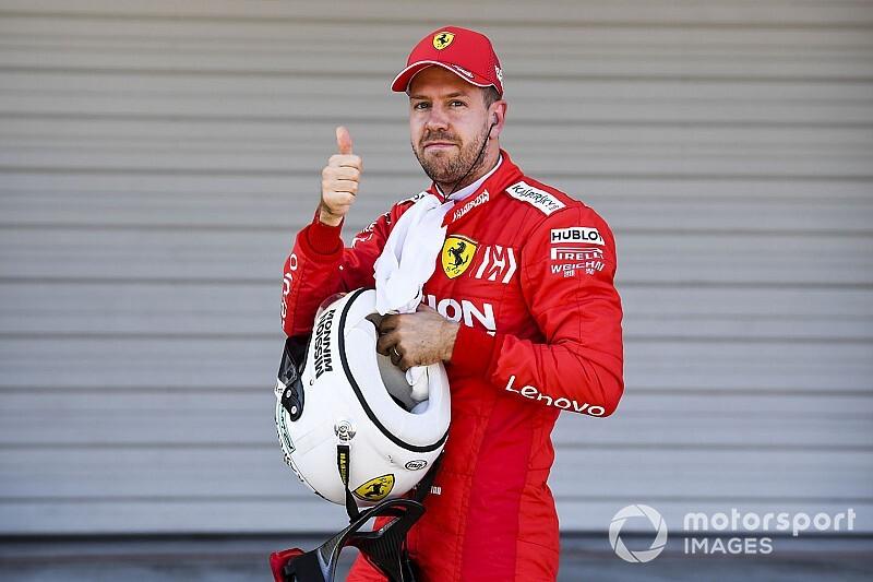 """Vettel: """"Forse ci mancava il passo anche senza l'errore al via"""""""
