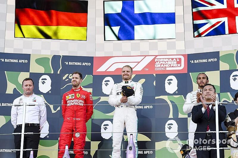ترتيب بطولة العالم للفورمولا واحد بعد سباق سوزوكا