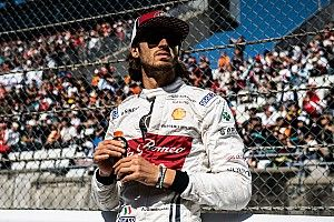 Giovinazzi says fighting for F1 seat like surviving junior career