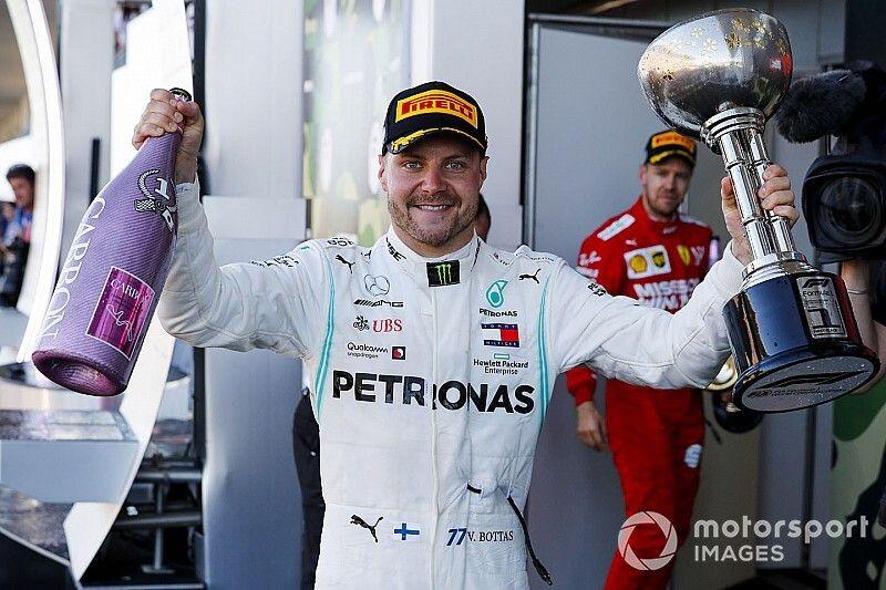 Formel 1 Suzuka 2019: Bottas-Sieg sichert Mercedes beide WM-Titel
