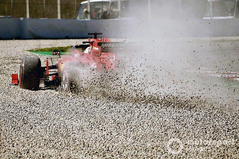 Las mejores fotos de los segundos test de F1 2020