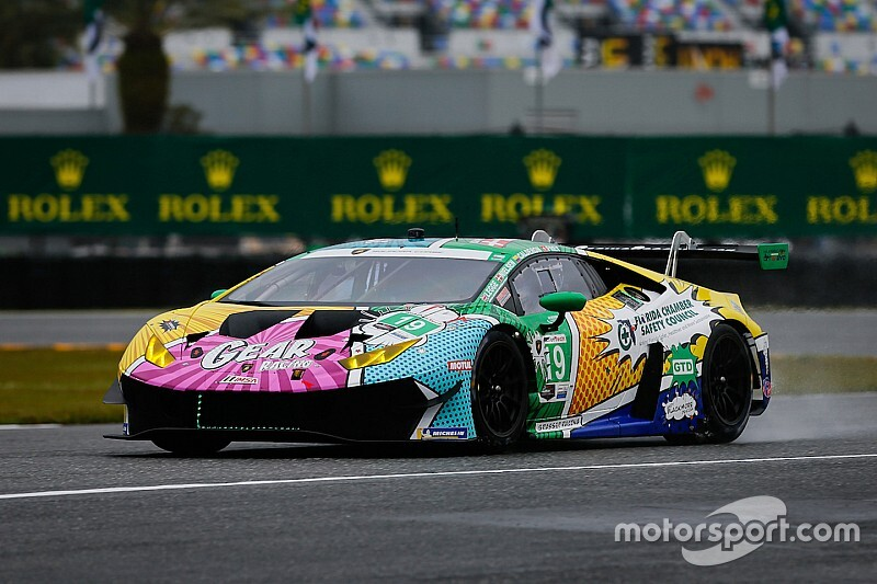 "Calderon ""shocked"" by first taste of sportscars"