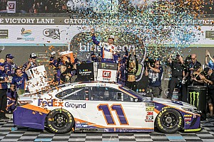 Denny Hamlin says 'we already won Homestead' last week