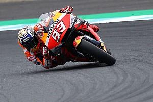 De startopstelling voor de MotoGP GP van Japan