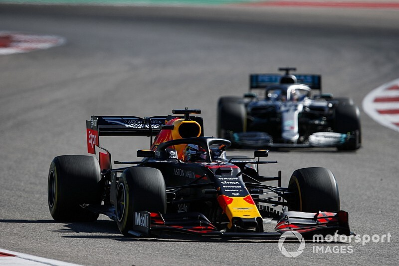 Floor damage hurt Verstappen's Austin win bid
