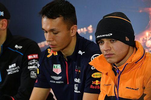 """Norris leeft mee met Albon: """"Formule 1 kan soms erg wreed zijn"""""""