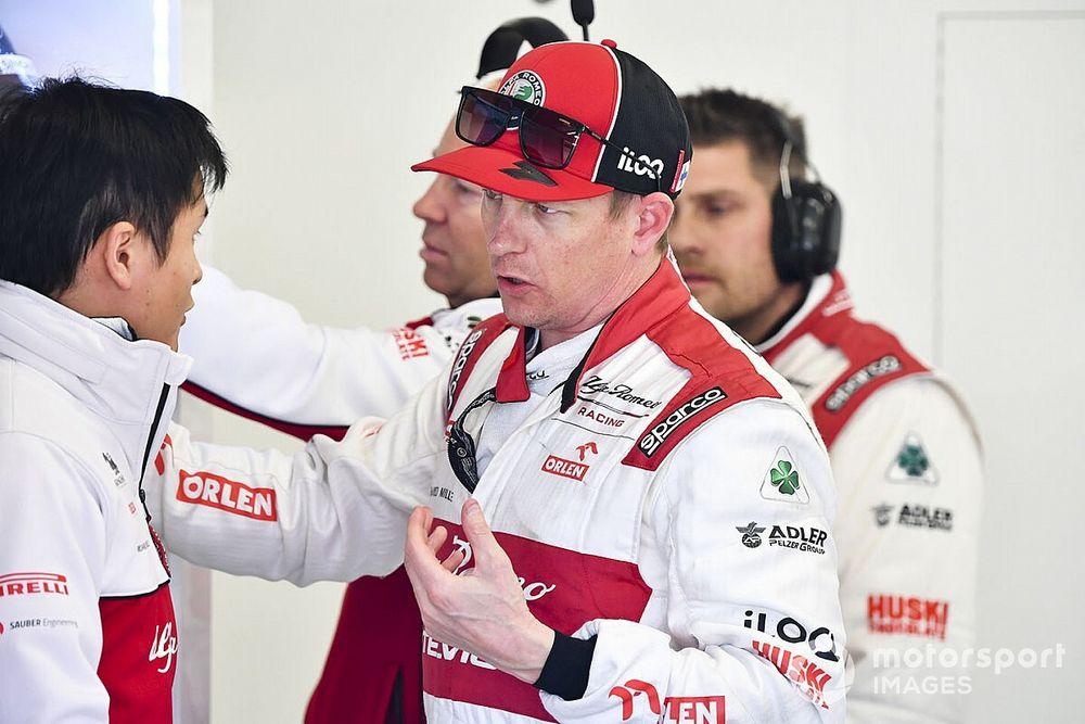 Sauber a pris contact avec Räikkönen dès 2017